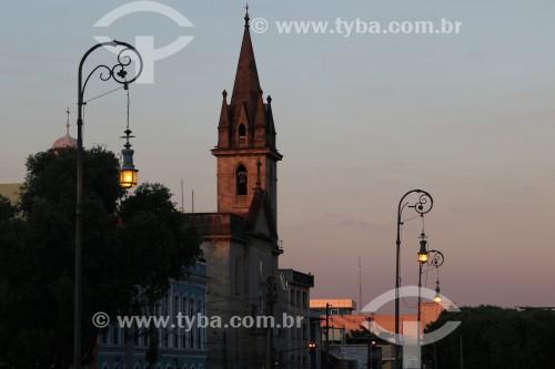 Final de tarde no centro histórico de Manaus - Manaus - Amazonas (AM) - Brasil