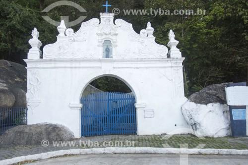 Portal de acesso para pedestres ao Convento da Penha (1558) - Vila Velha - Espírito Santo (ES) - Brasil
