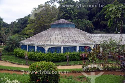 Orquidário no Jardim Botânico do Rio de Janeiro - Rio de Janeiro - Rio de Janeiro (RJ) - Brasil
