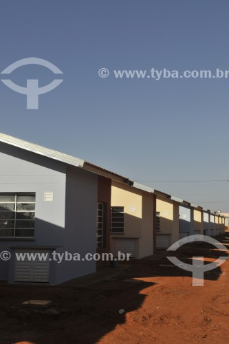 Construção de casas do programa Minha Casa Minha Vida  - Bálsamo - São Paulo (SP) - Brasil