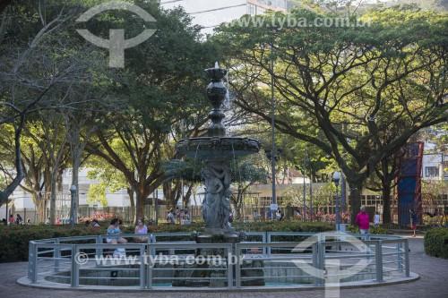Chafariz no Parque Moscoso - Centro histórico da cidade - Vitória - Espírito Santo (ES) - Brasil