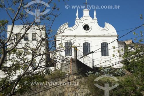 Igreja de São Gonçalo, também conhecida como Capela de Nossa Senhora do Amparo e da Boa Morte - Vitória - Espírito Santo (ES) - Brasil