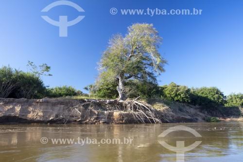 Erosão no Rio Parnaíba - Luzilândia - Piauí (PI) - Brasil
