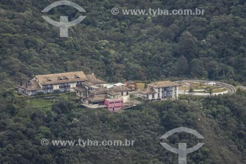 Vista do Hotel São Gotardo na Serra da Mantiqueira - Itamonte - Minas Gerais (MG) - Brasil
