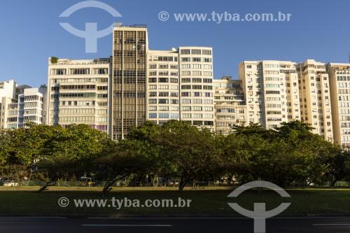 Vista de prédios na Praia do Flamengo - Rio de Janeiro - Rio de Janeiro (RJ) - Brasil