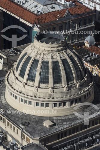 Vista de Cima da Assembleia Legislativa do Estado do Rio de Janeiro (ALERJ) - 1926 - Rio de Janeiro - Rio de Janeiro (RJ) - Brasil