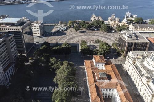 Vista de Cima do Paço Imperial (1743) - Rio de Janeiro - Rio de Janeiro (RJ) - Brasil