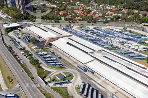 Foto aérea do Terminal Alvorada - Rio de Janeiro - Rio de Janeiro (RJ) - Brasil