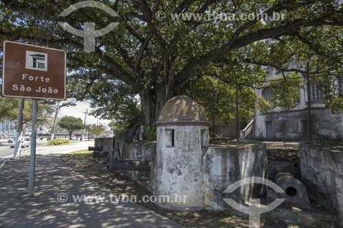 Vestígios do Forte São João - Vitória - Espírito Santo (ES) - Brasil