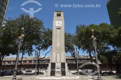 Relógio na Praça 8 de Setembro - Vitória - Espírito Santo (ES) - Brasil