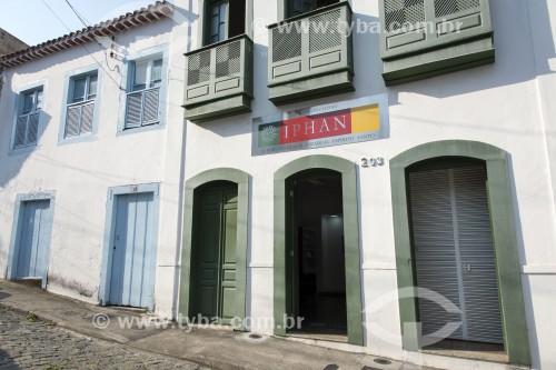 Sobrados na Rua José Marcelino -  remanescentes do período colonial - Vitória - Espírito Santo (ES) - Brasil