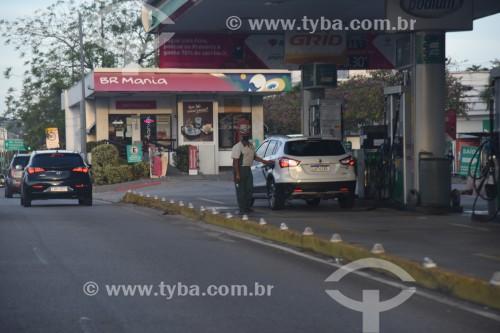 Posto de gasolina na Avenida das Américas - Rio de Janeiro - Rio de Janeiro (RJ) - Brasil