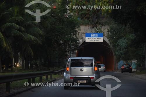 Entrada do Túnel Zuzu Angel - Rio de Janeiro - Rio de Janeiro (RJ) - Brasil