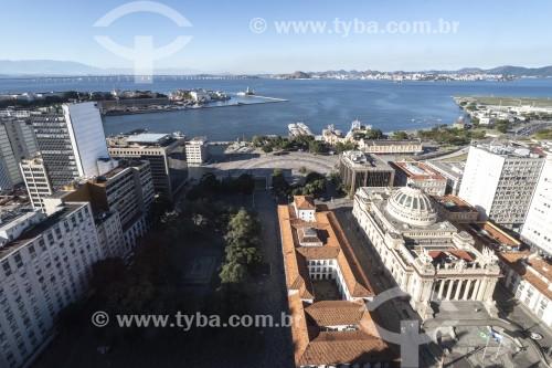 Vista de cima da Praça XV de Novembro - Rio de Janeiro - Rio de Janeiro (RJ) - Brasil