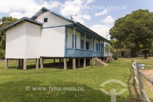 Casa de fazenda com arquitetura pomerana - Pancas - Espírito Santo (ES) - Brasil