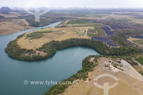Foto feita com drone do Assentamento Sezínio Fernandes de Jesus - Linhares - Espírito Santo (ES) - Brasil