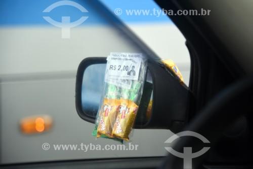 Venda de doces em rua do Rio de Janeiro - Rio de Janeiro - Rio de Janeiro (RJ) - Brasil