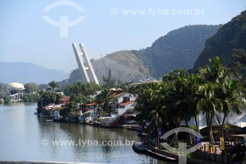 Casas no Canal da Barra - Rio de Janeiro - Rio de Janeiro (RJ) - Brasil