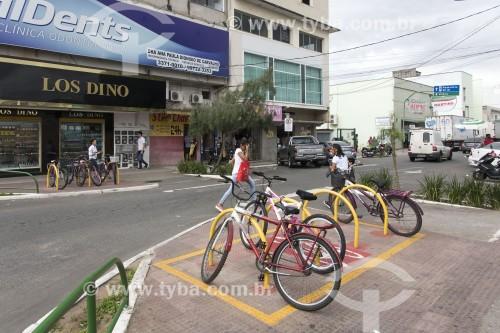 Estacionamento de bicicletas - Linhares - Espírito Santo (ES) - Brasil