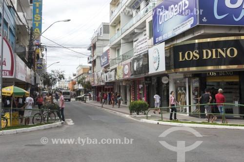 Rua comercial - Linhares - Espírito Santo (ES) - Brasil