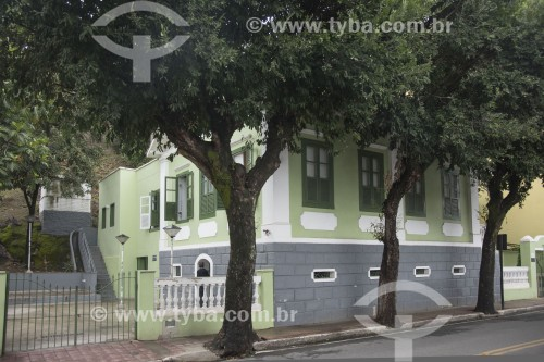 Casa dos Braga - Moradia dos escritores Rubem e Newton Braga - Cachoeiro de Itapemirim - Espírito Santo (ES) - Brasil