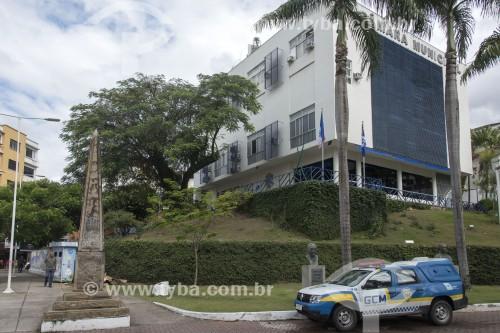 Câmara Municipal de Cachoeiro de Itapemirim e Obelisco - Cachoeiro de Itapemirim - Espírito Santo (ES) - Brasil