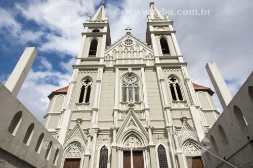 Fachada da Catedral de São Pedro - Cachoeiro de Itapemirim - Espírito Santo (ES) - Brasil