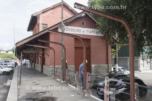 Museu Ferroviário da cidade, instalado na antiga estação - Cachoeiro de Itapemirim - Espírito Santo (ES) - Brasil