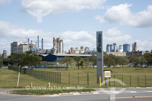 Fábrica da Suzano Celulose - Aracruz - Espírito Santo (ES) - Brasil
