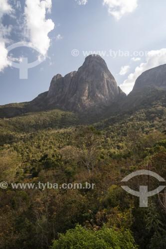 Vista do Pico Cabeça de Dragão no Parque Estadual dos Três Picos - Teresópolis - Rio de Janeiro (RJ) - Brasil
