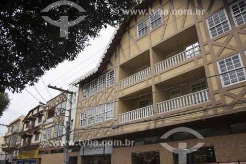 Edifícios com características pomeranas - Santa Maria de Jetibá - Espírito Santo (ES) - Brasil