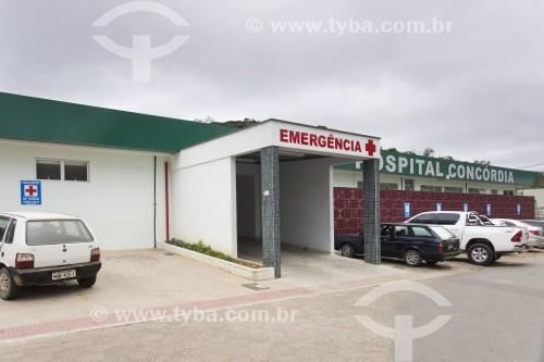Hospital Concórdia - Santa Maria de Jetibá - Espírito Santo (ES) - Brasil