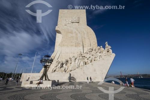 Padrão dos Descobrimentos (Monumento aos Descobrimentos) - Lisboa - Distrito de Lisboa - Portugal