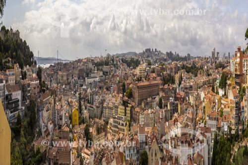 Vista panorâmica de Lisboa - Lisboa - Distrito de Lisboa - Portugal