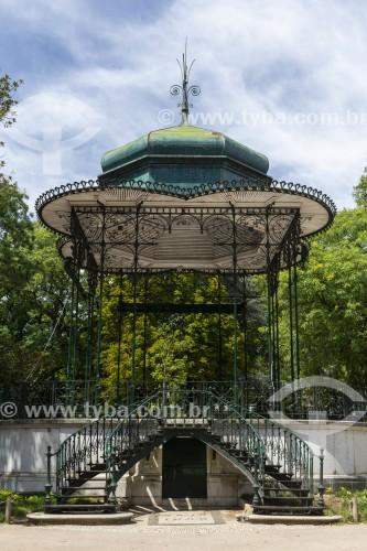 Coreto no Jardim da Estrela - Lisboa - Distrito de Lisboa - Portugal