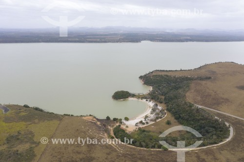 Foto feita com drone da Lagoa Juparanã - Linhares - Espírito Santo (ES) - Brasil