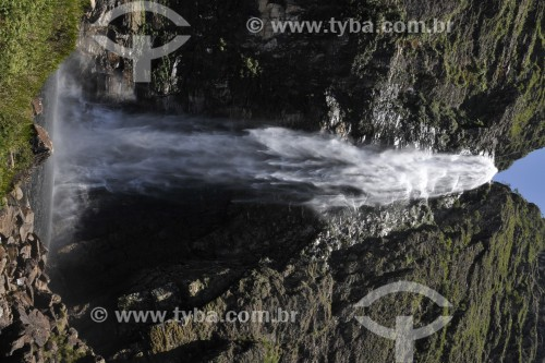 Cachoeira Casca DAnta - Parque Nacional da Serra da Canastra - São Roque de Minas - Minas Gerais (MG) - Brasil