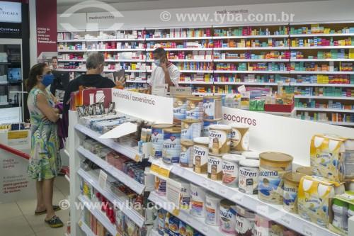 Atendimento em farmácia durante a pandemia do coronavírus - São Paulo - São Paulo (SP) - Brasil