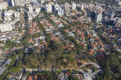 Foto feita com drone da Praça Horácio Sabino - São Paulo - São Paulo (SP) - Brasil