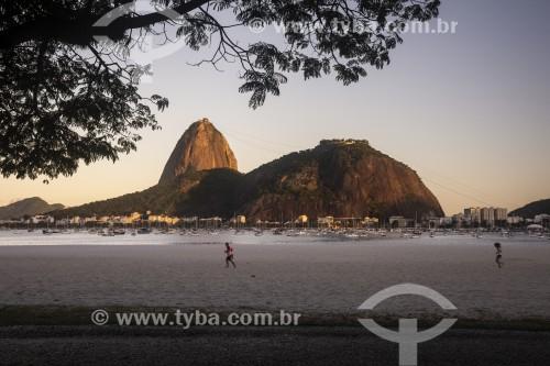 Pão de Açúcar visto da Praia de Botafogo - Rio de Janeiro - Rio de Janeiro (RJ) - Brasil
