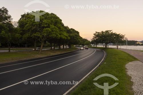 Tráfego na Avenida Infante Dom Henrique - Aterro do Flamengo - Rio de Janeiro - Rio de Janeiro (RJ) - Brasil