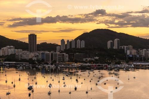 Vista da Iate Clube do Rio de Janeiro - Rio de Janeiro - Rio de Janeiro (RJ) - Brasil