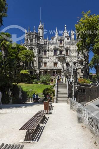 Castelo e jardim da Quinta da Regaleira - Concelho de Sintra - Distrito de Lisboa - Portugal