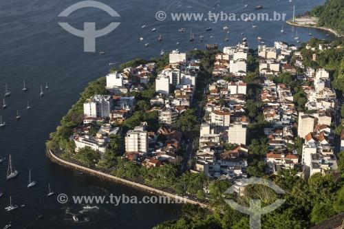 Prédios da Urca vistos do Morro da Urca - Rio de Janeiro - Rio de Janeiro (RJ) - Brasil