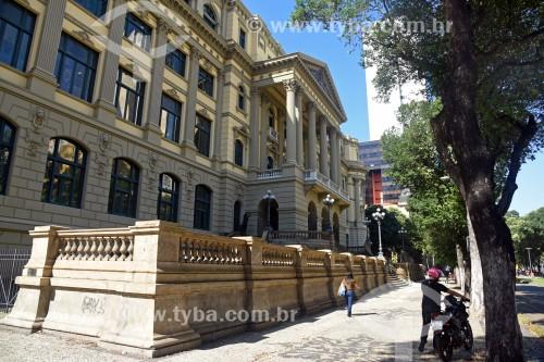 Fachada da Biblioteca Nacional (1910) - Rio de Janeiro - Rio de Janeiro (RJ) - Brasil