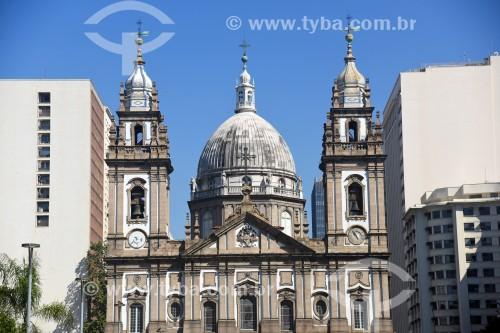 Vista da Igreja de Nossa Senhora da Candelária (1609) - Rio de Janeiro - Rio de Janeiro (RJ) - Brasil