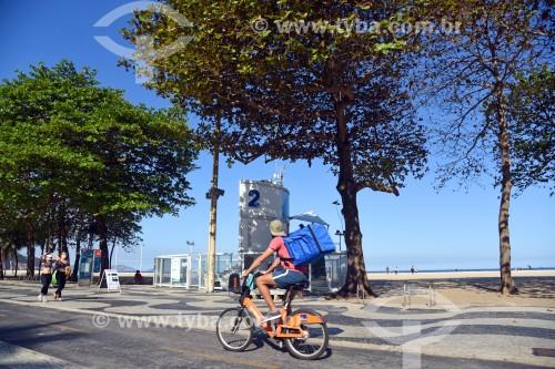 Ciclista entregador de restaurante - via aplicativo - Rio de Janeiro - Rio de Janeiro (RJ) - Brasil