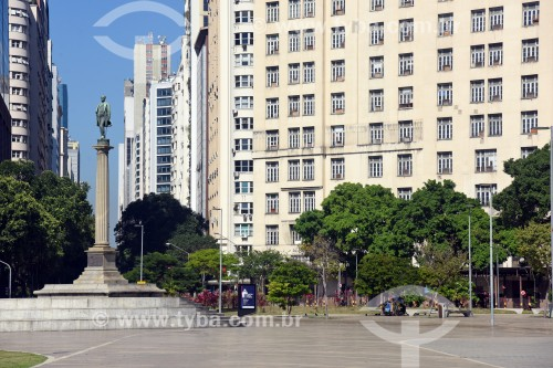 Monumento à Visconde de Mauá na Praça Mauá - Rio de Janeiro - Rio de Janeiro (RJ) - Brasil