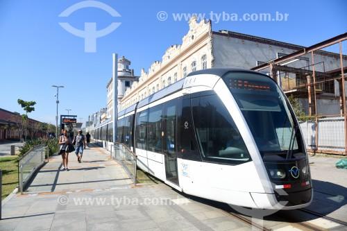 Veículo leve sobre trilhos na Orla Prefeito Luiz Paulo Conde (2016) - Rio de Janeiro - Rio de Janeiro (RJ) - Brasil