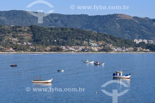 Barra de Ibiraquera - Garopaba - Santa Catarina (SC) - Brasil